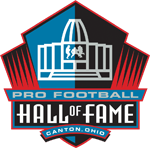 Logo for the Pro Football Hall of Fame.