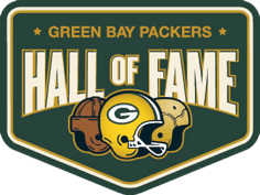 Logo for the Green Bay Packers Hall of Fame.