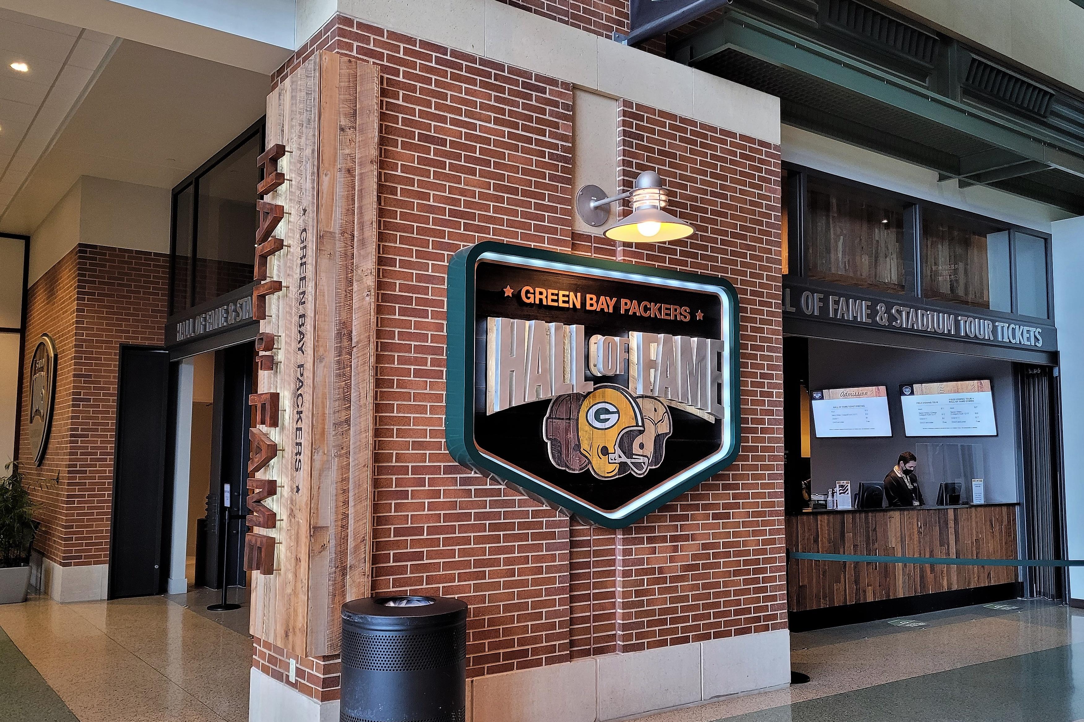 Hall of Fame Entrance